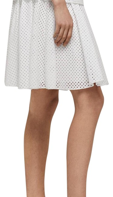 Rag & Bone White Lakewood Skirt Size 4 (S, 27) Rag & Bone White Lakewood Skirt Size 4 (S, 27) Image 1