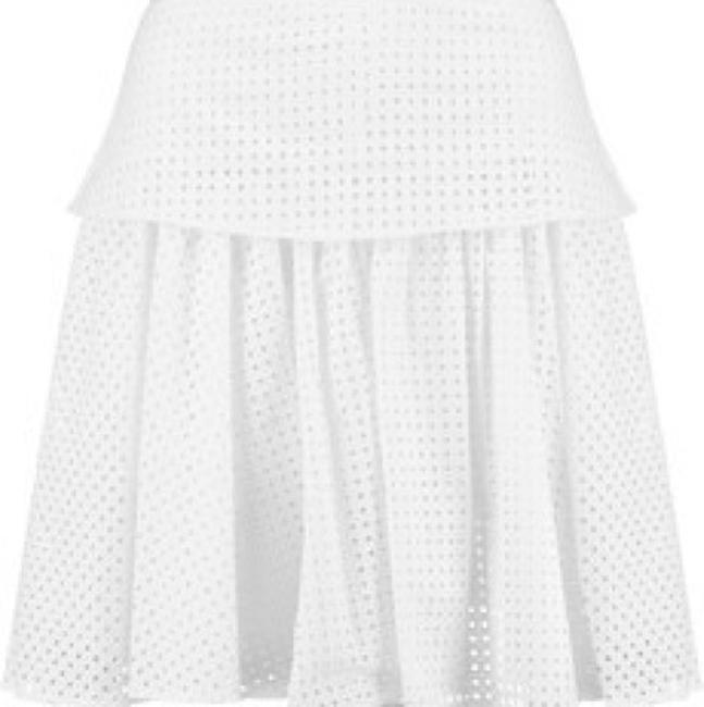 Rag & Bone Mini Skirt White Image 1