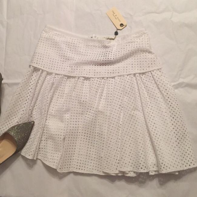 Rag & Bone Mini Skirt White Image 2