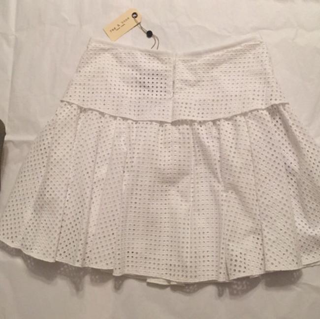 Rag & Bone Mini Skirt White Image 4