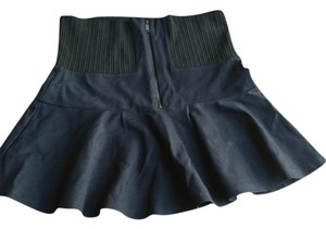 Zara Mini Skirt Navy/black