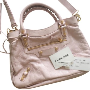 Balenciaga Giant 12 Satchel in Pink