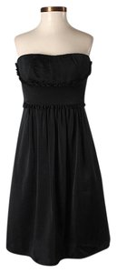 BCBGMAXAZRIA Strapless Empire Waist Dress