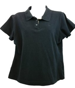 Burberry London Burberry Black Cotton Shirt T Shirt