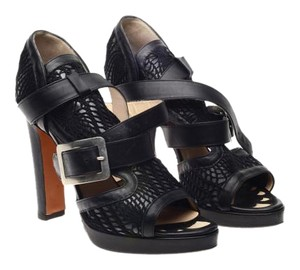 Jean-Paul Gaultier Black Sandals