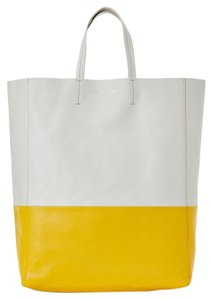Céline Valentino Chanel Fendi Dior Tote in White Yellow