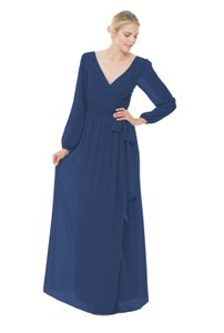 Joanna August Tangled Up In Blue Holly Long Dress