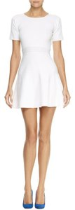 Theory short dress Enchanted White Fit And Flare on Tradesy