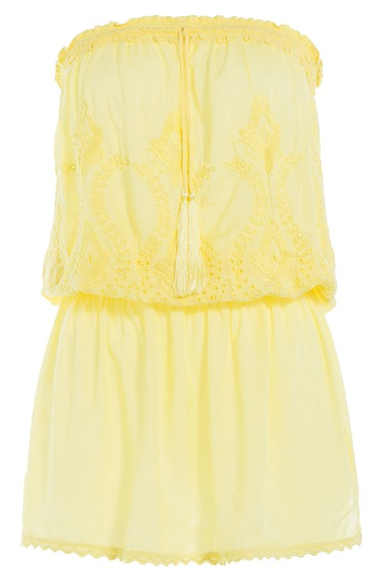 Item - Yellow Fruley Cover-up/Sarong Size 6 (S)