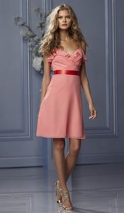 Wtoo Coral With Tomato Ribbon 492 Dress