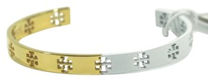 Tory Burch Tory Burch Dipped Pierced T Cuff Multicolor