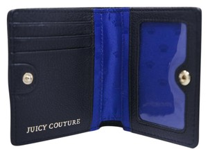 Juicy Couture Juicy Couture Dylan Black Leather Medium Wallet