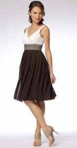 Wtoo Candle Light-stone-cognac 986 Dress