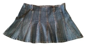 Let me b. Mini Skirt Denim