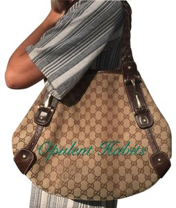 Gucci Pelham Hobo Tote Shoulder Bag