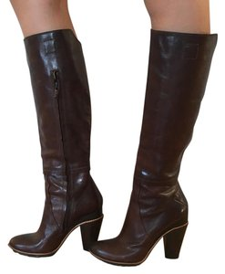 CoSTUME NATIONAL Deep Red-brown Boots