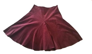 Windsor Skirt Burgundy