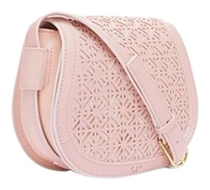 Tory Burch Saddlebag Lasercut Cross Body Bag