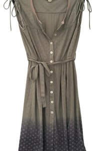 Free People short dress taupe and purple on Tradesy