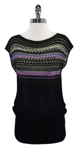 Missoni short dress Multi Color Knit Short Sleeve on Tradesy