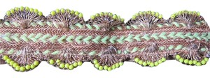 Anthropologie Adjustable bright belt