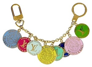 Louis Vuitton Louis Vuitton Multicolore Trunks & Bags Key and Bag Charm