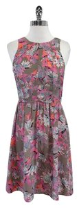 Rebecca Taylor short dress Multi Color Floral Print Silk on Tradesy