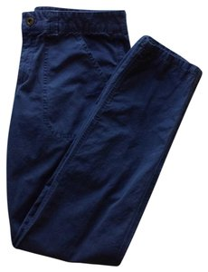 J.Crew Khaki/Chino Pants Dark grayish blue