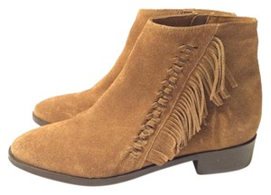 Topshop Under100 Fringe Brown Boots