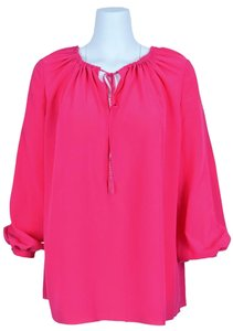 Saint Laurent Ysl Ysl Top Rose Fuschia