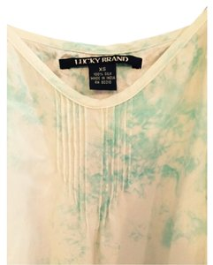 Lucky Brand Top Teal
