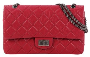 Chanel Quilted Ch.k0701.02 Leather Shoulder Bag