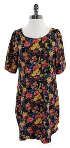 Yumi Kim short dress Multi Color Floral Print Silk on Tradesy
