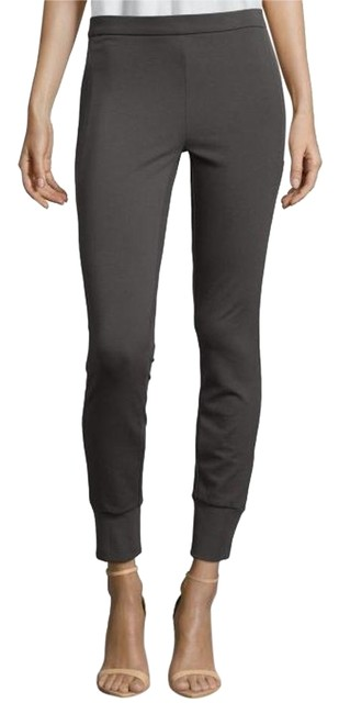 Preload https://img-static.tradesy.com/item/18880621/vince-charcoal-grey-leather-piped-stretch-knit-jogger-leggings-size-0-xs-25-0-1-650-650.jpg