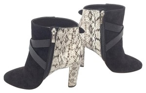 Jimmy Choo Black/Grey Boots