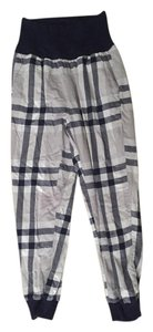 Aerie Pajama Blue Baggy Pants Navy white dark gray light gray black