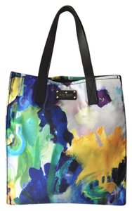 Kate Spade Nylon Watercolor Tote in Blue