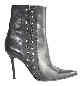 Dolce&Gabbana Pointed Toe Black Boots