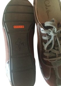 Cole Haan Nike Sneakers Oxfords Brown Flats