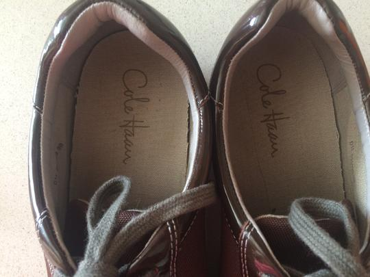 Cole Haan Nike Sneakers Oxfords Brown Flats Image 1