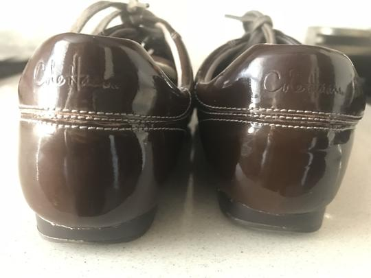 Cole Haan Nike Sneakers Oxfords Brown Flats Image 3