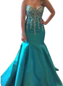 Mori Lee Prom Couture Gown Dress