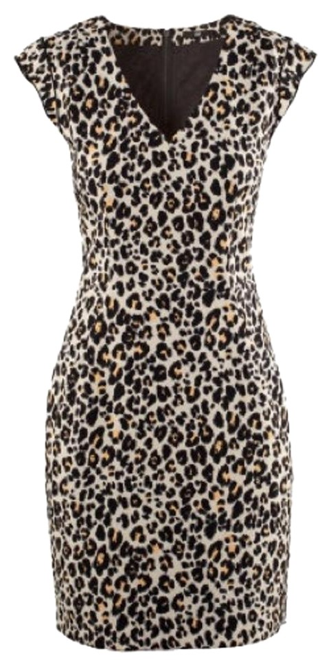 ab68cecaf895 H&M Leopard Print Above Knee Night Out Dress Size 8 (M) - Tradesy
