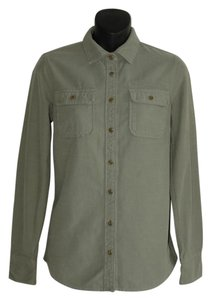 J.Crew Button Down Shirt green