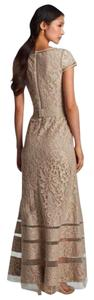 Tadashi Shoji Belt Included Sheer Inserts Dress