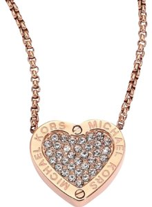 Michael Kors Michael Kors Rose Gold Tone Necklace