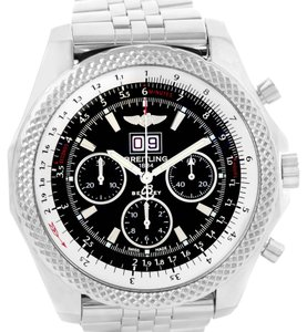 Breitling Breitling Bentley 6.75 Speed Chronograph Black Dial Mens Watch A44364