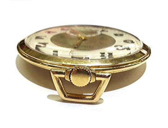 Tiffany & Co. Tiffany & Co Vintage 18 K Gold Pocket Watch With IWC Movement Image 3