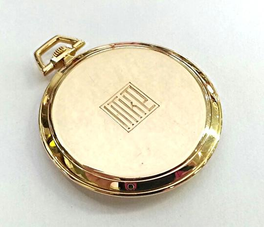 Tiffany & Co. Tiffany & Co Vintage 18 K Gold Pocket Watch With IWC Movement Image 4