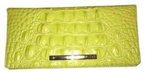 Brahmin Rare Slim Leather LEMONGRASS MELBOURNE, NWT Clutch